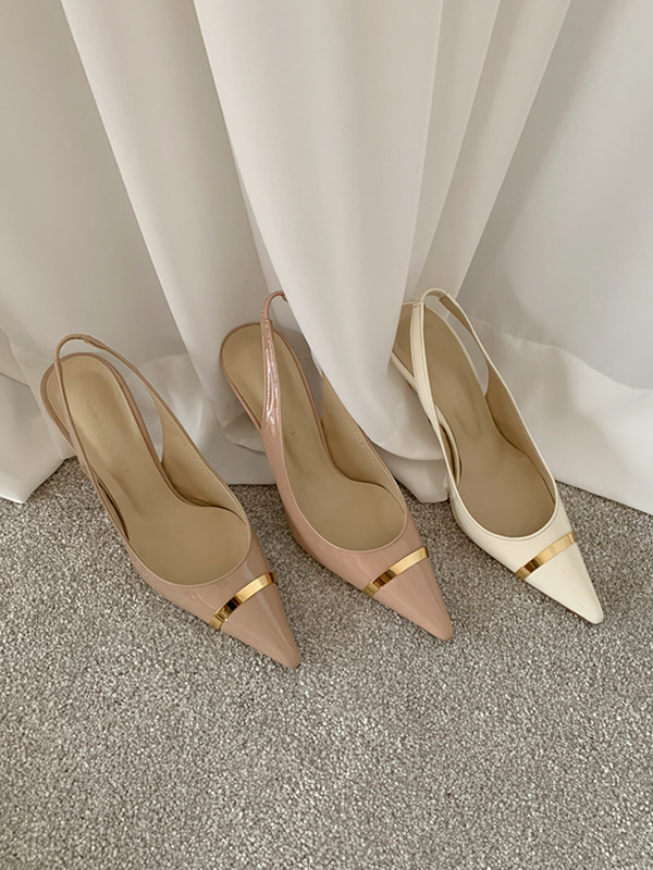 new gold line stiletto (4color)